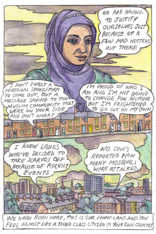 'Islamophobia' comic strip