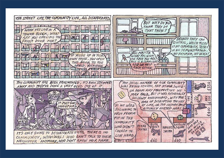 'Regeneration' comic strip part 3