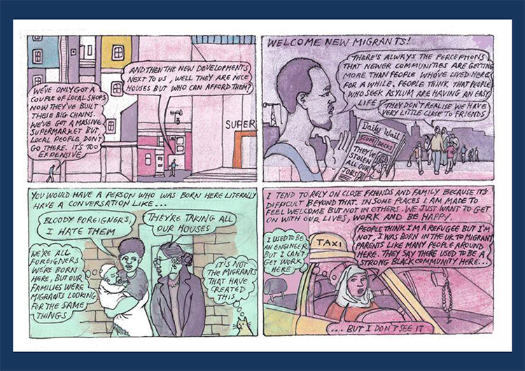 'Regeneration' comic strip part 4
